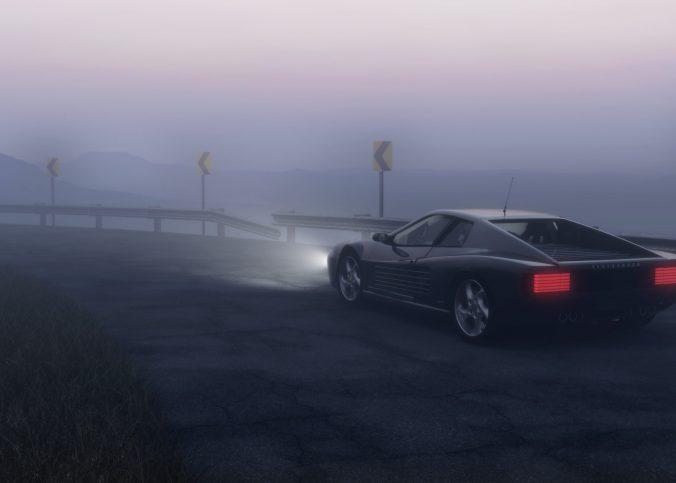 Avtomobilske meglenke zagotavljajo varno pot tudi v meglenih pogojih.